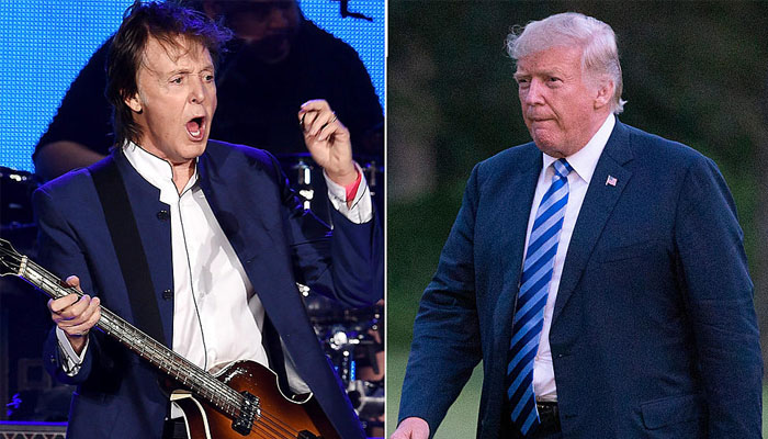 paul mccartney donald trump