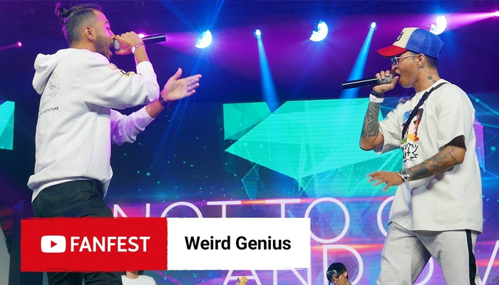 weird genius youtube fanfest 2018